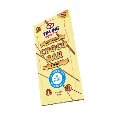 Bela čokolada bez dodatog šećera 100g