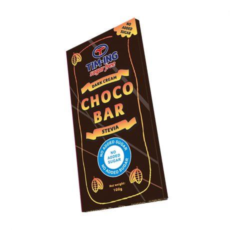 Dark choco bar 100g no added sugar