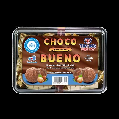 Crni choco krem bueno bez dodatog šećera 180g