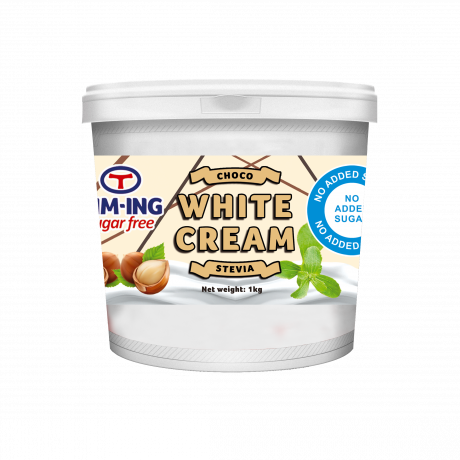 White choco cream 1 kg no added sugar